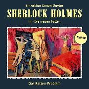 Cover-Bild zu Sherlock Holmes, Die neuen Fälle, Fall 18: Das Ratten-Problem (Audio Download) von Masuth, Andreas