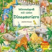Cover-Bild zu Krause, Joachim: Maxi Pixi 337: VE 5 Wimmelspaß mit vielen Dinosauriern (5 Exemplare)