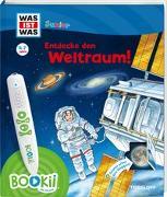 Cover-Bild zu Braun, Christina: BOOKii® WAS IST WAS Junior Entdecke den Weltraum!