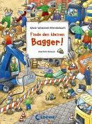 Cover-Bild zu Krause, Joachim (Illustr.): Mein Wimmel-Wendebuch - Finde den kleinen Bagger!/Finde den roten Ritterhelm!
