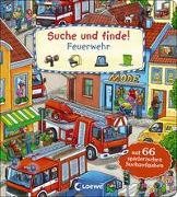 Cover-Bild zu Krause, Joachim (Illustr.): Suche und finde! - Feuerwehr