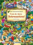 Cover-Bild zu Krause, Joachim (Illustr.): Mein Wimmel-Wendebuch - Finde die kleine Bohrmaschine! / Finde den Fußball!