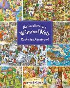 Cover-Bild zu gondolino Wimmelbücher (Hrsg.): Meine allererste WimmelWelt - Suche das Abenteuer!