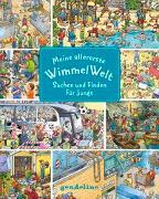 Cover-Bild zu gondolino Wimmelbücher (Hrsg.): Meine allererste WimmelWelt - Suchen und finden für Jungs