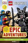 Cover-Bild zu March, Julia: DK Readers Level 3: LEGO NINJAGO: Epic Adventures