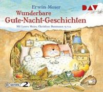 Cover-Bild zu Moser, Erwin: Wunderbare Gute-Nacht-Geschichten