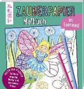Cover-Bild zu Pautner, Norbert: Zauberpapier Malbuch im Feenwald