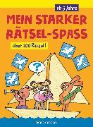 Cover-Bild zu Pautner, Norbert: Mein starker Rätsel-Spaß. Über 200 Rätsel für Kinder ab 5 Jahren. Von Punkt zu Punkt, Bilderrätsel, Suchbilder, Labyrinthe, Ausmalbilder u.v.m