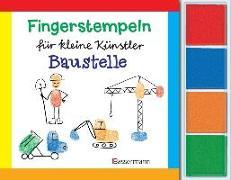 Cover-Bild zu Pautner, Norbert: Fingerstempeln f. kl. Künstler-Baustelle-Set