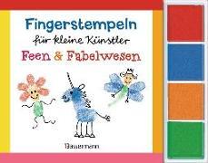 Cover-Bild zu Pautner, Norbert: Fingerstempeln für kleine Künstler-Set - Feen und Fabelwesen