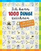 Cover-Bild zu Pautner, Norbert: Ich kann 1000 Dinge zeichnen.Kritzeln wie ein Profi! (eBook)