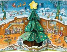 Cover-Bild zu Kulot, Daniela: Weihnachten bei Familie Maus Pop-up-Adventskalender
