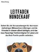 Cover-Bild zu Herzog, Werner: Leitfaden Hundekauf (eBook)