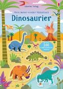 Cover-Bild zu Robson, Kirsteen: Mein Immer-wieder-Stickerbuch: Dinosaurier