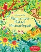 Cover-Bild zu Robson, Kirsteen: Mein erster Rätsel-Mitmachspaß