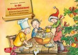 Cover-Bild zu Zuckowski, Rolf: In der Weihnachtsbäckerei. Kamishibai Bildkartenset
