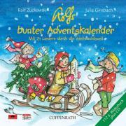 Cover-Bild zu Zuckowski, Rolf: Rolfs bunter Adventskalender. CD mit Buch