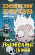 Cover-Bild zu Bass, Guy: Bug Club Independent Fiction Year 4 Grey Dinking Dings and the Frightening Things