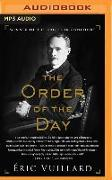 Cover-Bild zu Vuillard, Eric: The Order of the Day