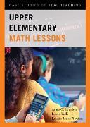 Cover-Bild zu Graeber, Anna O.: Upper Elementary Math Lessons (eBook)