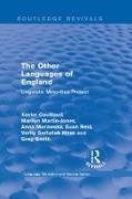 Cover-Bild zu Couillaud, Xavier: Routledge Revivals: The Other Languages of England (1985) (eBook)