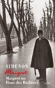Cover-Bild zu Simenon, Georges: Maigret im Haus des Richters