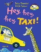 Cover-Bild zu Stanisic, Sasa: Hey, hey, hey, Taxi!