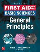Cover-Bild zu First Aid for the Basic Sciences: General Principles, Third Edition von Le, Tao