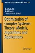 Cover-Bild zu Optimization of Complex Systems: Theory, Models, Algorithms and Applications von Le Thi, Hoai An (Hrsg.)