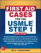 Cover-Bild zu First Aid Cases for the USMLE Step 1 von Le, Tao