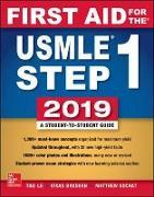 Cover-Bild zu First Aid for the USMLE Step 1 2019, Twenty-Ninth Edition von Le, Tao