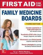 Cover-Bild zu First Aid for the Family Medicine Boards, Third Edition von Le, Tao