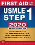 Cover-Bild zu First Aid for the USMLE Step 1 2020, Thirtieth Edition von Le, Tao