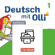 Cover-Bild zu Bülow, Sandra: Deutsch mit Olli, Erstlesen - Ausgabe 2021, 1. Schuljahr, Mein Medienpass, Arbeitsheft Medienkompetenz, 10 Stück im Paket