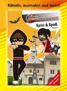 Cover-Bild zu Baiker, Stefan: Geisterkickboarder Spiel & Spaß Büchlein Band 3