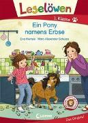 Cover-Bild zu Hierteis, Eva: Leselöwen 1. Klasse - Ein Pony namens Erbse