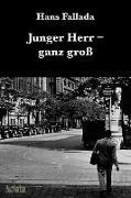 Cover-Bild zu Fallada, Hans: Junger Herr ganz groß (eBook)