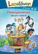 Cover-Bild zu Grimm, Sandra: Leselöwen 2. Klasse - Piratengeschichten