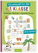 Cover-Bild zu Schnabel, Dunja (Illustr.): Rätselspaß für die 1. Klasse