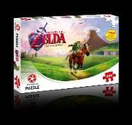 Cover-Bild zu The Legend of Zelda Ocarina of Time. Puzzle