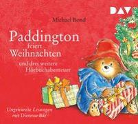 Cover-Bild zu Paddington feiert Weihnachten und drei weitere Hörbuchabenteuer