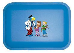 Cover-Bild zu Globi Lunchbox Spital blau