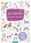 Cover-Bild zu Glitzerspaß Einhorn-Sticker
