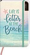 Cover-Bild zu myNOTES Notizbuch A6: Life is better at the beach - notebook large, dotted - für Träume, Pläne und Ideen / ideal als Bullet Journal oder Tagebuch