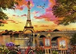 Cover-Bild zu Paris Puzzle 1000 Teile