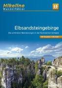 Cover-Bild zu Wanderführer Elbsandsteingebirge. 1:35'000 von Esterbauer Verlag (Hrsg.)