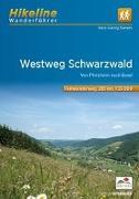 Cover-Bild zu Fernwanderweg Westweg Schwarzwald. 1:35'000 von Sievers, Hans-Georg