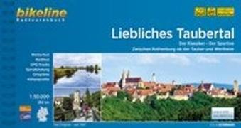 Cover-Bild zu Liebliches Taubertal. 1:50'000 von Esterbauer Verlag (Hrsg.)