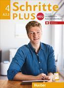 Cover-Bild zu Schritte Plus Neu 4 A2/2. Schweiz. Kursbuch u. Arbeitsbuch von Niebisch, Daniela
