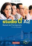 Cover-Bild zu studio d A2. Gesamtband 2. Kurs- und Übungsbuch von Funk, Hermann